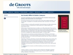 View More Information on de Groots Wills & Estate Lawyers