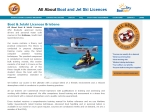 View More Information on All About Boat & Jet Ski Licences