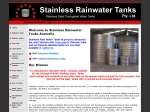 View More Information on Stainless Rainwater Tanks