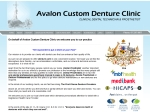 View More Information on Avalon Custom Denture Clinic