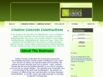 View More Information on Creative Concrete Constructions