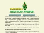 View More Information on Burdekin Christian College Early Learning Child Care Centre