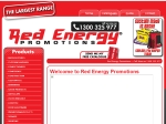 View More Information on Red Energy Marketing & Promotions