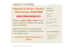 View More Information on Harley's Pizzeria
