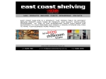 View More Information on East Coast Shelving