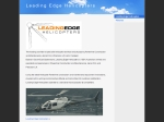 View More Information on Leading Edge Helicopters
