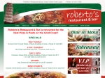View More Information on Roberto's Lakeside Restaurant & Bar