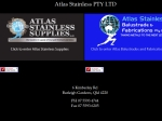 View More Information on Atlas Stainless Balustrade & Fabrications Pty Ltd