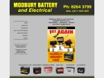 View More Information on Modbury Battery & Electrical