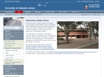 View More Information on University of Adelaide Roseworthy Campus Library