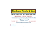 View More Information on Business Cards 4 You