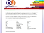 View More Information on DJ Appliance Service