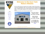 View More Information on Eyre Tank Makers