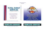 View More Information on Total Event Services