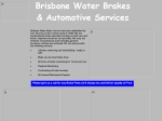 View More Information on Brisbane Water Brakes & Automotive Services