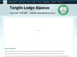 View More Information on Tanglin Lodge Alpacas