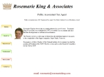 View More Information on Rosemarie King & Associates