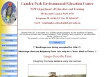 View More Information on Camden Park Environmental Education Centre