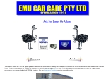 View More Information on Emu Car Care Pty. Ltd.
