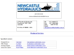 View More Information on Newcastle Hydraulics