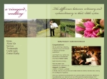View More Information on A Vineyard Wedding