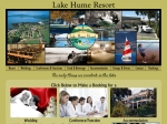 View More Information on Lake Hume Resort