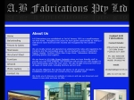 View More Information on A.B. Fabrications Pty Ltd