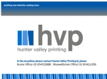 View More Information on Hunter Valley Printing