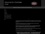 View More Information on Hills & Co Customs