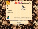 View More Information on Lisa's Art & Calligraphy
