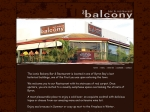 View More Information on Balcony Bar & Restaurant