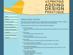 View More Information on Adding Design Practique