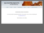 View More Information on KG Instruments (W'Sale)