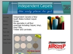 View More Information on Independent Carpet Centres