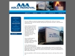 View More Information on AAA Able Removal
