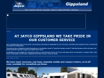 View More Information on Jayco Gippsland