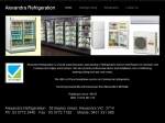 View More Information on Alexandra Refrigeration