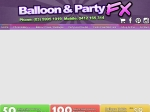 View More Information on Balloon & Party FX