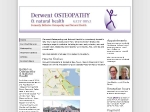 View More Information on Derwent Osteopathy & Natural Health