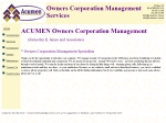 View More Information on Acumen Owners Corp Management