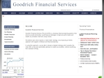 View More Information on Goodrich Financial Services Pty Ltd