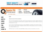 View More Information on Quick Fit Tyre & Auto Service