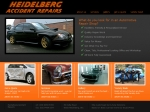 View More Information on Heidelberg Accident Repairs