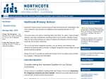 View More Information on Northcote Primary School