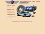 View More Information on Australian Classic Wire Wheels