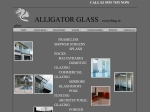 View More Information on A Alligator Glass