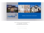 View More Information on Royal Blue Constructions