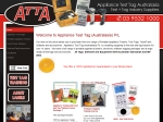 View More Information on Appliance Test Tag Australia
