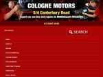View More Information on Cologne Motors, Braeside