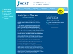 View More Information on A Australian College of Sports Therapy